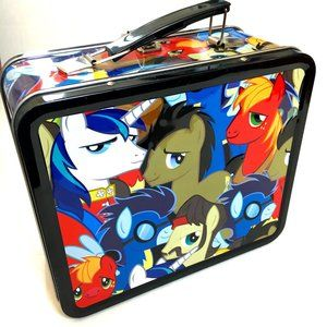 Hasbro 2014 My Little Pony Loungefly Lunchbox EUC
